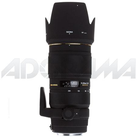 Sigma 70-200mm f/2.8 DG Macro HSM II Auto Focus Telephoto Zoom Lens for Canon EOS image