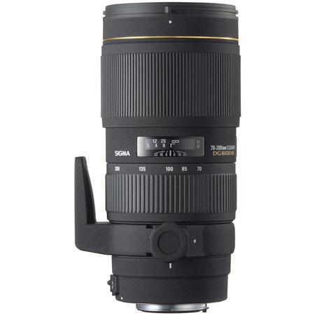 Sigma 70-200mm f/2.8 APO EX DG Macro HSM Auto Focus Telephoto Zoom Lens for Canon EOS image