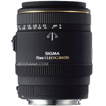 Sigma 70mm f/2.8 EX DG Auto Focus Macro Lens for Pentax AF Cameras image