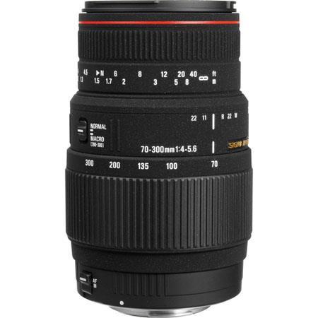 Sigma 70-300mm f/4-5.6 APO DG Macro Tele Zoom Lens for the Maxxum & Sony Alpha Mount. image