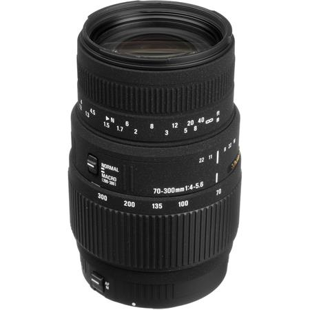 Sigma 70-300mm f/4-5.6 DG Macro Tele Zoom Lens for Canon EOS Cameras image