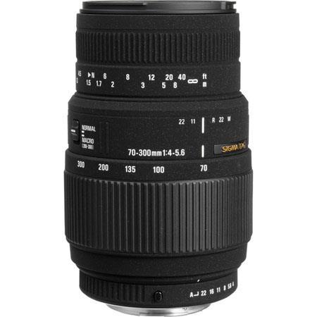 Sigma 70-300mm f/4-5.6 DG Macro Tele Zoom Lens for the Maxxum & Sony Alpha Mount. image