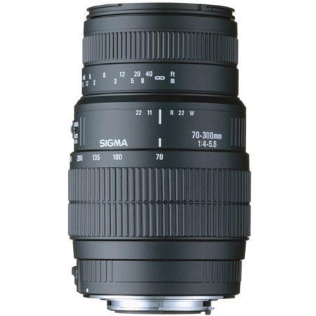 Sigma 70-300mm f/4-5.6 DG Macro Tele Zoom Lens for Nikon AF-D Cameras image