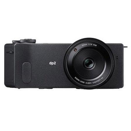 Sigma dp-2 Quattro Digital Point & Shoot Camera, 29MP Foveon X3 Quattro CMOS Image Sensor 19.6 Megapixel with FOVEON X3 Direct Image Sensor, Fixed 30mm f/2.8 Lens, RAW Image Capture