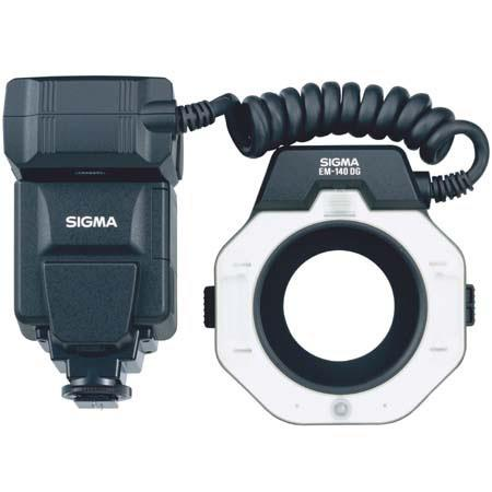 Sigma EM-140 DG Macro Flash for Pentax TTL Digital SLRs, Guide Number of 45 with ISO 100 Feet.