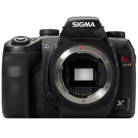 Sigma SD-14 Digital SLR Camera Body, 14 Megapixel, Foveon X3 Direct Image Sensor image