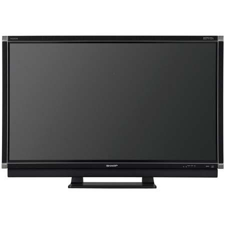 "Sharp Aquos LC-46SE94U 46"" LCD HDTV with 16:9 Aspect Ratio, Built-in ATSC/QAM/NTSC Tuners, Leather-Black image"