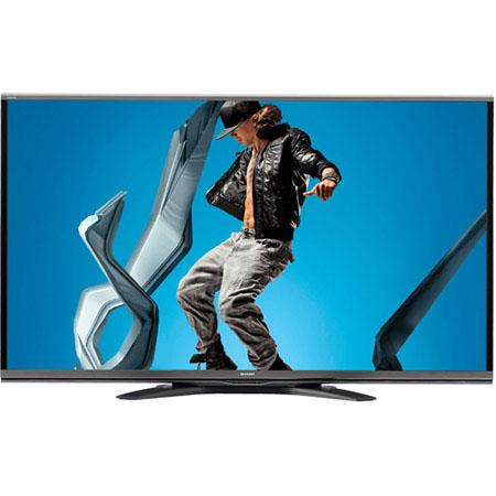 "Sharp Aquos Q+ Series LC-60SQ15 60"" Class 1080p Full HD Smart LED 3D TV, 240Hz Refresh Rate, USB/HDMI/VGA, 4K Input"