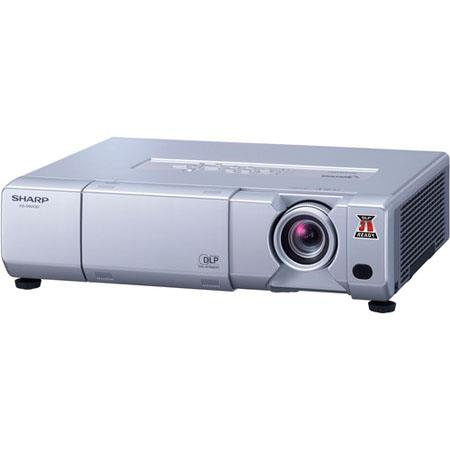 Sharp 3D Ready BrilliantColor DLP Projector, 5000 ANSI Lumens Brightness, 1074x768 XGA Resolution, 2500:1 Contrast Ratio