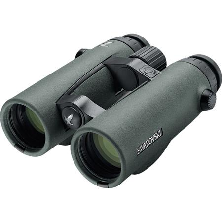 Swarovski Optik 10x42 EL Range Series Water Proof Roof Prism Binocular with 6.3 Degree Angle of View & Laser Rangefinder, Green