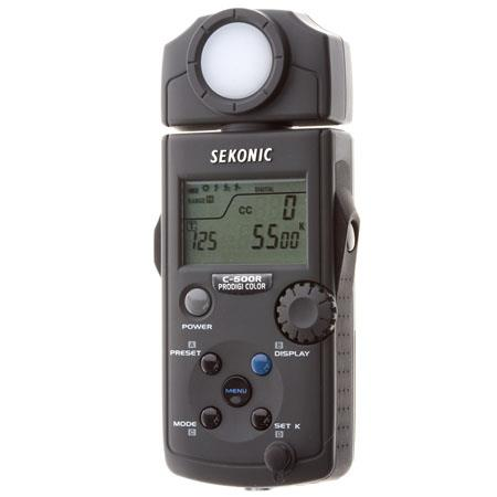 Sekonic PRODIGI COLOR C-500R Photographic Color Meter Built-in Wireless Triggering Module for Digital & Film