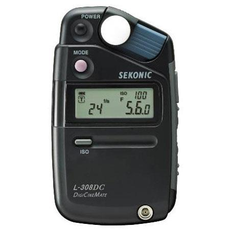 Sekonic L-308DC DigiCineMate Light Meter for Digital Videography with HD Cine/Cine/Photo Modes