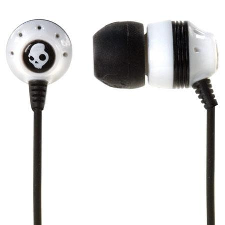 Skullcandy INK'D Earbuds - White / Black image