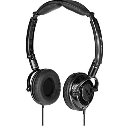 Skullcandy Lowrider Stereo Headphones with 40mm Speaker - Black image