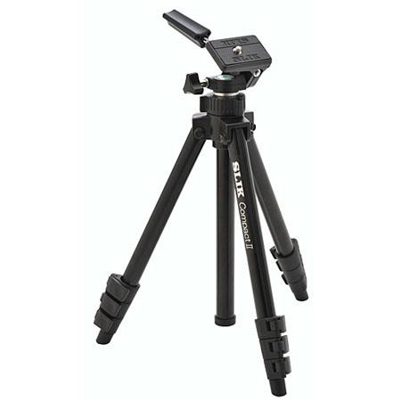 Slik Compact II Tripod with Max. Height: 38 in., Supports 2.75 lbs. image