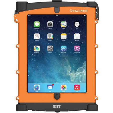 Snow Lizard SLXTREME Waterproof Case for iPad 4 with Lightning-Connector, 10200mAh Battery Capacity, Orange