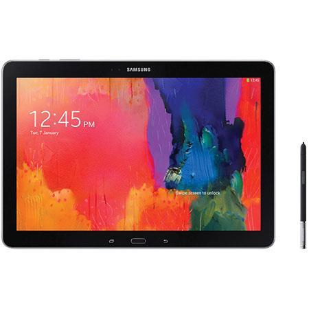"Samsung Galaxy Note Pro 12.2"" HD Tablet Computer, Exynos 5 Octa 1.9GHz, 3GB RAM, 32GB eMMC Memory, KitKat 4.4, Wi-Fi, Bluetooth 4.0 LE, Refurbished, Black"