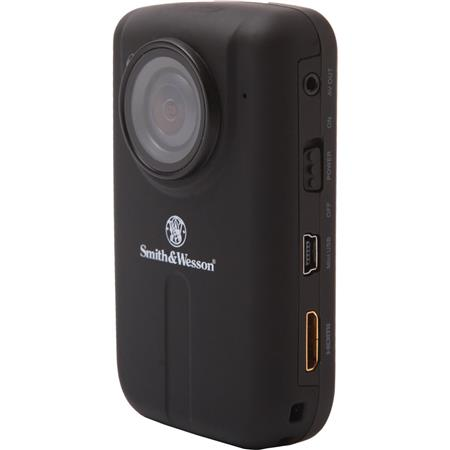 Smith & Wesson Law 720p Hands-Free HD Camcorder, 5MP, USB, LCD Display