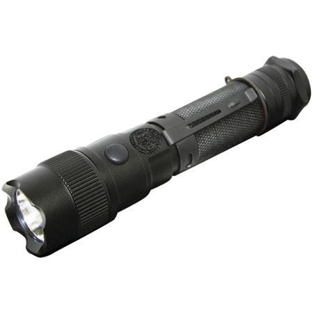 Smith & Wesson Elite CREE LED Flashlight, 165 Lumens on High, 55 Lumens on Low, Matte Black Aluminum.