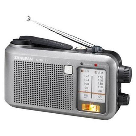 Sangean Multi-Powered FM/AM Radio Receiver