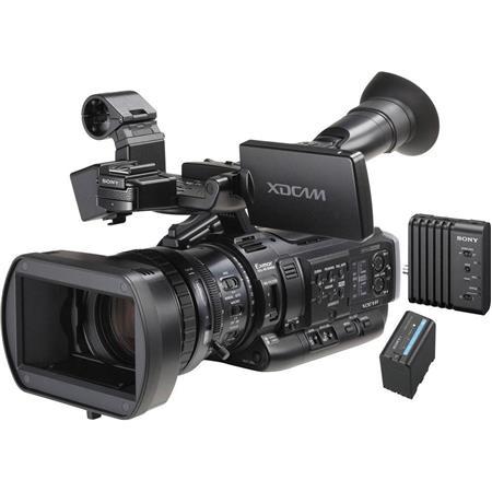 Sony PMW-200 Camcorder Kit with CBK-WA100 Wireless Adapter & BP-U60T Battery