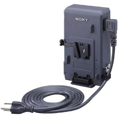 Sony ACD-N10 AC Adaptor Battery Charger Function, Direct Attachment to the V-mount of a Camcorder
