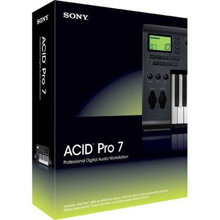 Sony ACID Pro 7 (Educational Version) Audio, MIDI and Loop Based Recording Software