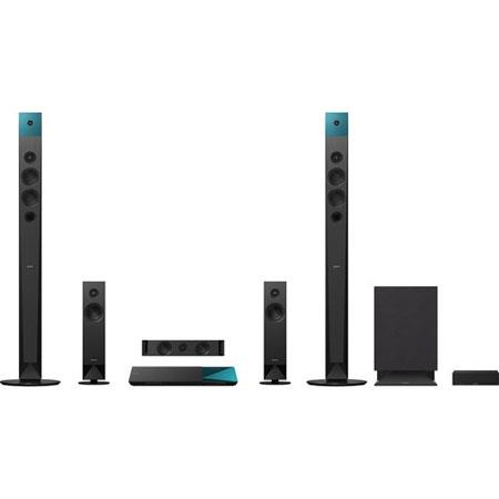 Sony BDV-N8100W 5.1-Ch 3D Blu-ray Home Theater System, 1000W Power Output, Wi-Fi, 6 ohms Impedance, Bluetooth