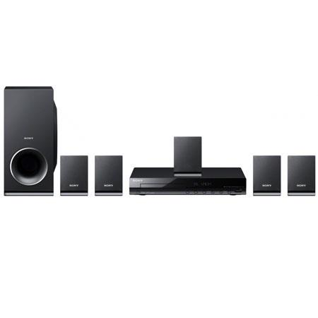 Sony DAV-TZ140 DVD Home Theater System, 30 W Per Channel, 5.1 Channel Surround Sound