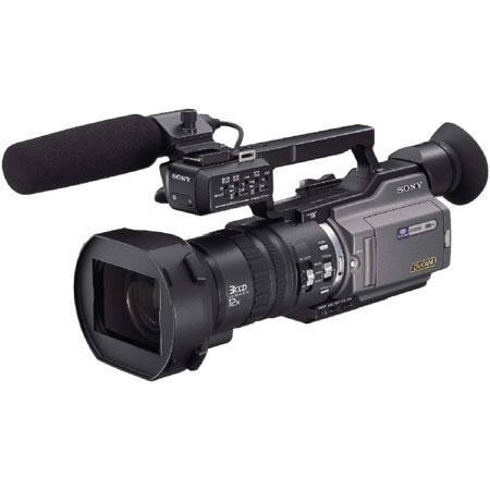 Sony DSR-PD170 3-CCD Mini DVCAM/Mini DV Camcorder 12x optical/48x digital zoom image