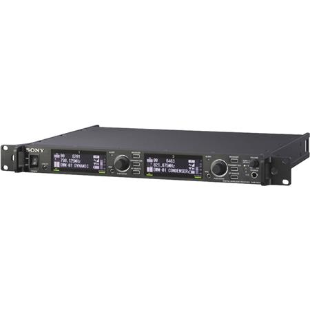 Sony DWR-R01D/30 Dual Channel Rack Mountable Digital Wireless Receiver