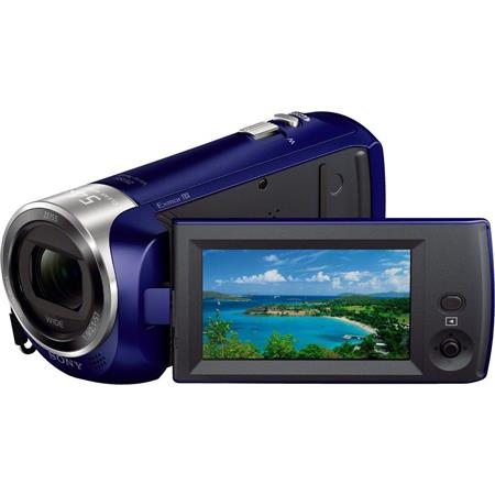 Sony HDR-CX240 Full HD Handycam Camcorder, 27x Optical/54x Clear Image Zoom, 29.8mm Wide-Angle Carl Zeiss Lens, 2.7