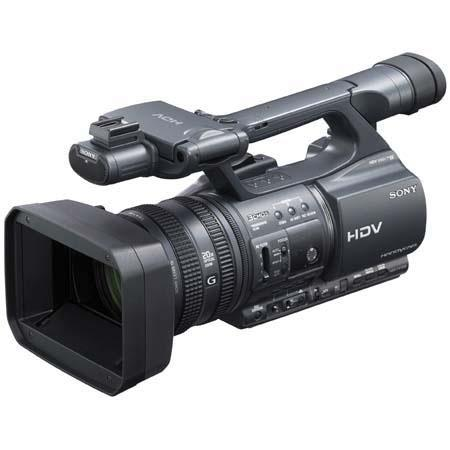 "Sony HDR-FX1000E ""PAL"" High Definition MiniDV (HDV) Handycam Camcorder, with 29.5 - (16:9), 36.1-722mm (4:3) f/1.6-f/3.4 Lens & 30x Digital Zoom"