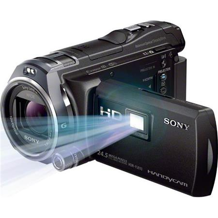 Sony HDR-PJ810 32GB Full HD Handycam Camcorder with Built-in 50 Lumen Projector, Advanced Manual Controls, 12x Optical Zoom, 26.8mm Wide-Angle G Zoom Lens, WiFi, NFC