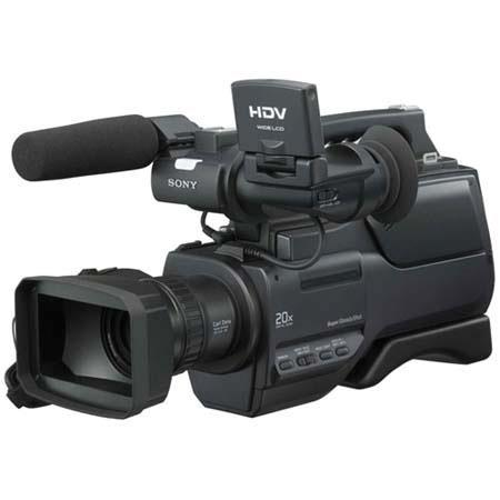 "Sony HVR-HD1000U Digital HDV 1080 High Definition Handycam Camcorder, 1/2.9"" ClearVID CMOS Sensor, 10x Optical Zoom Carl Zeiss Lens"