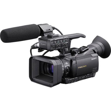 Sony HXR-NX70U NXCAM Compact Camcorder with 1920x1080 60/24p Full HD, 96GB Flash Memory