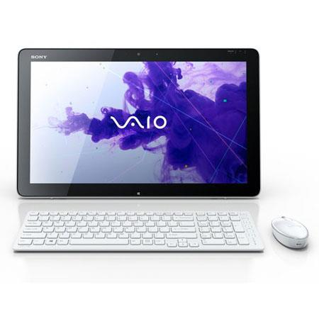"Sony VAIO Tap 20 SVJ20237CXW 20"" All-in-One Touch Desktop Computer, Intel Dual-Core i7-3537U 2.0GHz, 8GB RAM, 1TB HDD, Windows 8 Home Premium, White"