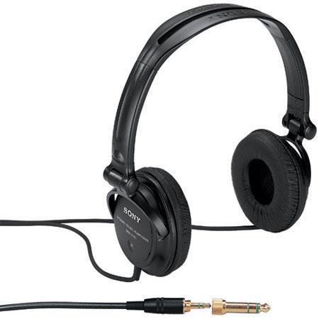 Sony MDR-V250V Studio Monitor Series Over-the-Head Stereo Headphones image