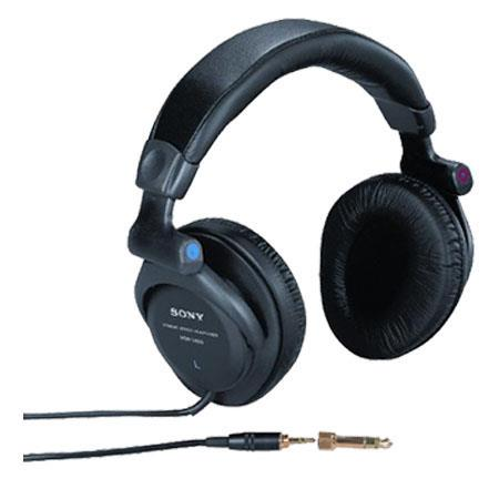Sony MDR-V600 Studio Monitor Series Over-the-Head Stereo Headphones image