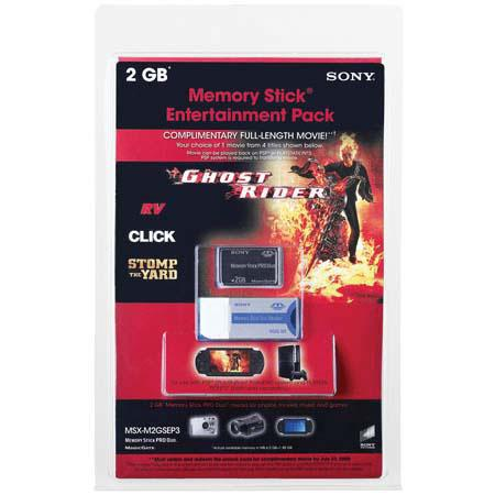 Sony MSMT2GEP3 2 GB Memory Stick Entertainment Pack image