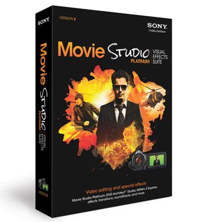Sony Movie Studio Platinum: Visual Effects Suite 2