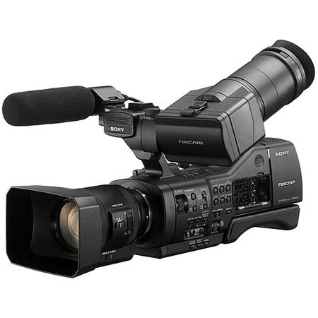 Sony NEX-EA50UH Professional Camcorder with 18-200mm Servo Zoom Lens, APS HD CMOS Sensor