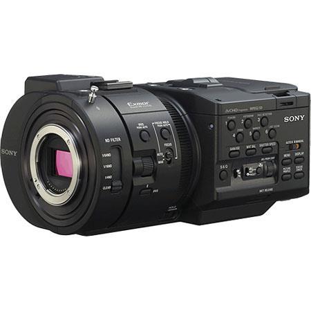 """Sony Sony NEX-FS700U Super 35 4K Sensor Camcorder """"Body Only"""" with 4K RAW Upgrade (270 Hours)"""