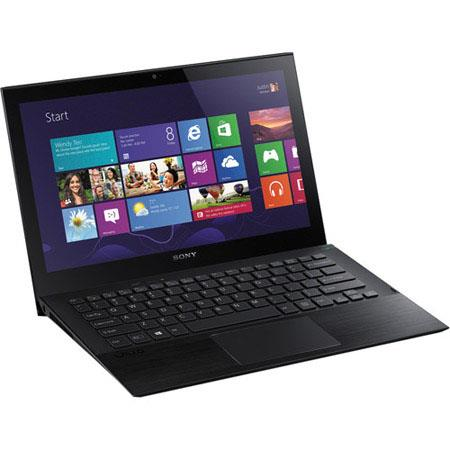 "Sony VAIO Pro 11 11.6"" Full HD Touchscreen Ultrabook Notebook Computer, Intel Core i7-4500U 1.8GHz, 8GB RAM, 128GB SSD, Windows 8 Home Premium, Black"