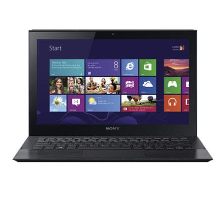 "Sony VAIO Pro 11 11.6"" Full HD Touchscreen Ultrabook Notebook Computer, Intel Core i7-4500U 1.8GHz, 8GB RAM, 256GB SSD, Windows 8 Professional, Black"