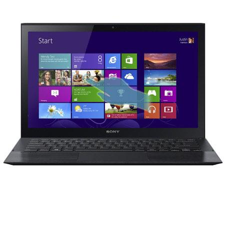 "Sony VAIO Pro 13 13.3"" Touchscreen Full HD Ultrabook Notebook Computer, Intel Core i5-4200U 1.6GHz, 8GB RAM, 256GB, Windows 7 Pro (Upg to Win 8 Pro)"