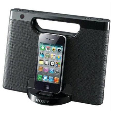 Sony RDP-M7IP Speaker Dock for iPod and iPhone, Wireless Remote Control, Black