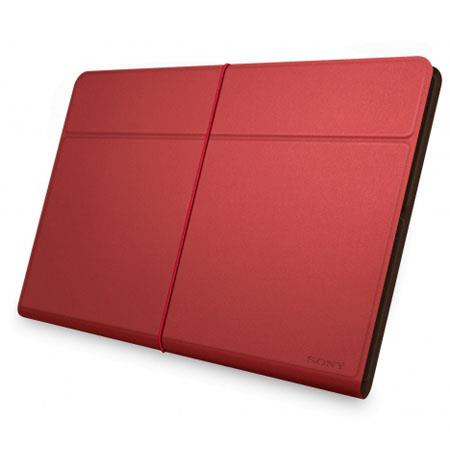 Sony Leather Cover Case for Xperia Tablet Z, Red