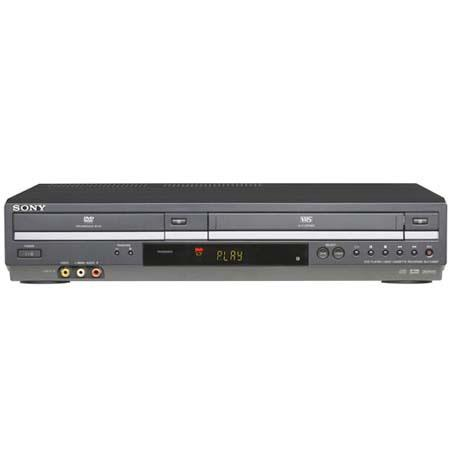 Sony SLVD-380P DVD/VCR Progressive Scan Combo Player image