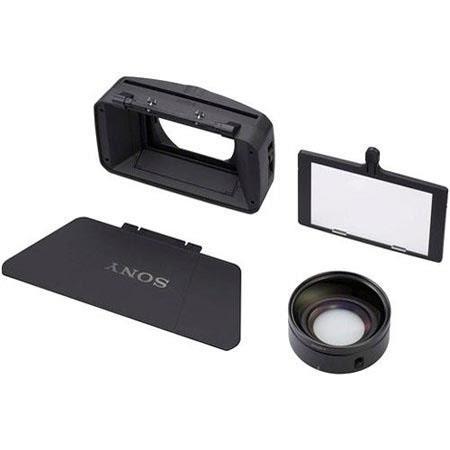 Sony VCL-HG0872K 0.8x Wide Conversion Lens for the HVR-Z5U HDV Camcorder
